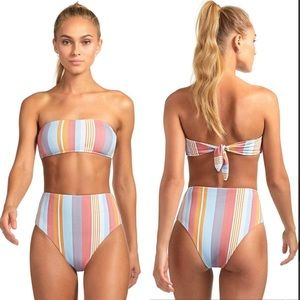 Vitamin A LUPE Verano High Waist Bikini Bottom